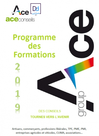 Formations ACE Conseils 2019